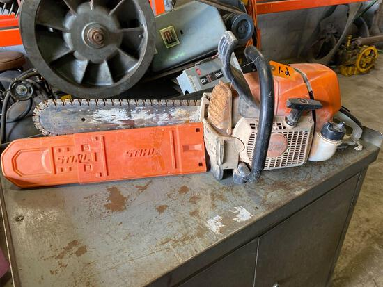 Stihl GS461 Rock Boss Concrete Chain Saw