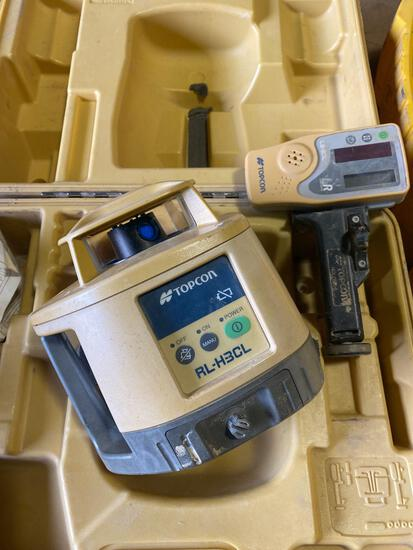 TopCon Co RL-H3CL Rotary Laser w/ Receiver