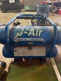 J-Air Co Dual Tank Compressor.