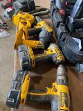 Dewalt Cordless 18v Tool Set