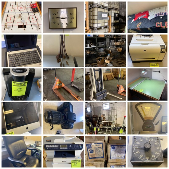 Thermal Products Online Auction