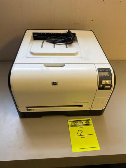 Hp Laser Jet CP1525nw Color Printer