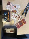 Used Cavs game tickets, 3D glasses, floor seat passes