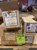 (4) electric motors, (2) 1/3, (2) 1/4 hp. All seem to be new or lightly used