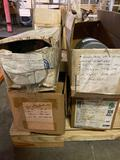 (4) electric motors. (2) 1/2, (1) 1/6, (1) 1/4 hp. All seem to be new or lightly used