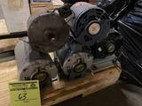 Group of 5 electric motors. Out of box. Item condition unknown