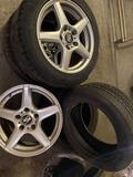 (3) rims and 4 tires. See pics. All R16