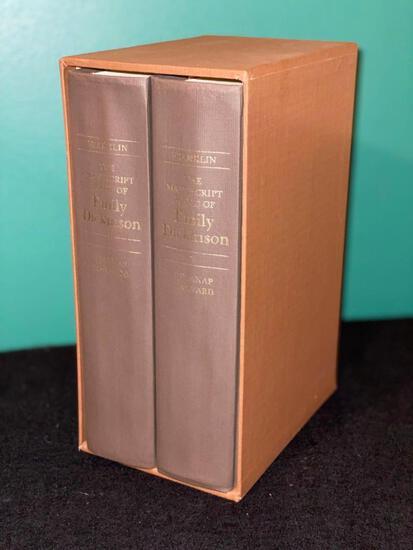 The Manuscript Books of Emily Dickenson - Volumes 1 & 2