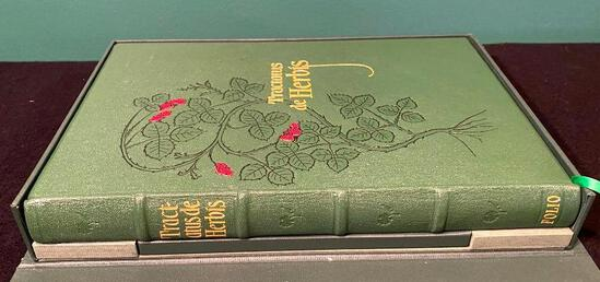 Tractatus de Herbis Minta Collins Published by Folio Society, London 2002 - NUMBERED LIMITED EDITION