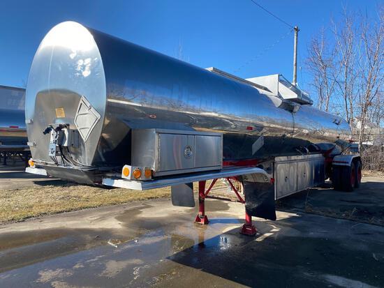 Fruehauf stainless Steel Tanker Trailer