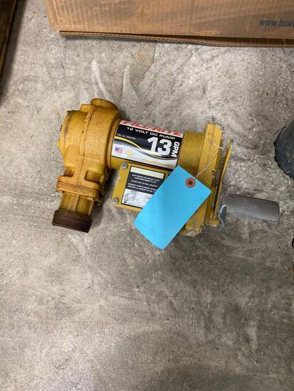 13 gallon per minute 12 volt pump