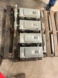 Square D Electrical Lot of 4 safety switches