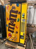 M & M Candy Vending machine, with bill changer, working condition