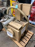 Whitlock model 7 1/2 HP vacuum pump, 480 volt