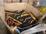 Box load of broom heads