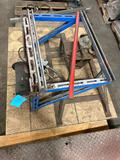 Pneumatic pump and stand