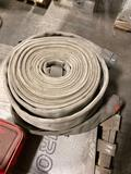 2- 3.5 inch fire hoses