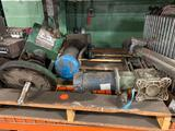 Pallet of hydraulic motors and parts