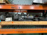 Large lot of hydraulic motors