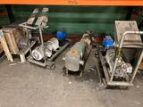 4- Hydraulic motors on carts or stands
