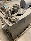 Trane 200,000 BTU gas heater with blower