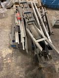 Pallet of assorted conveyor