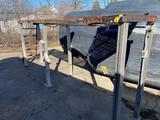 Steel platform, galvanized