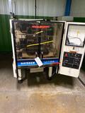 Hayssen Model 12- 16HPR Form fill seal machine with hopper and powder feeder
