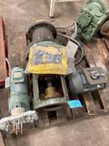 Pallet of motors and pumps
