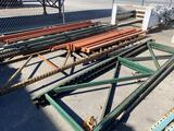 Assorted Pallet Rack Beams and Uprights