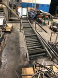 2 10' sections of roller conveyer