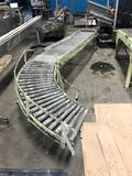 1 section of roller conveyer