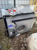 Semi trailer heater, made to be portable, runs in diesel