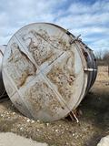 Stainless Steel tank, approx 13 ft tall, was previously used for wine making
