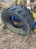 Skid loader tire