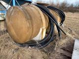 Large fiberglass tank, previously used for acid, approx 10 ft long