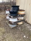 12 semi tire rims