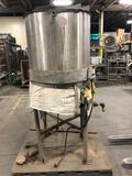San-Tank Stainless steel mixer - Heated/jacketed