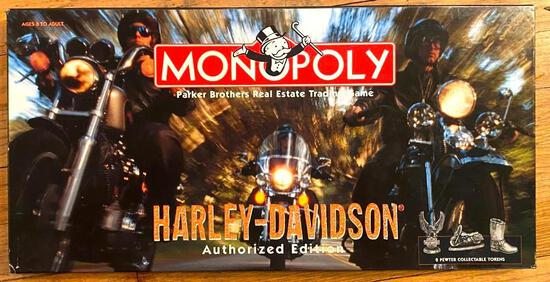 Harley Davison Monopoly Board Game by Parker Brothers - Authorized Edition