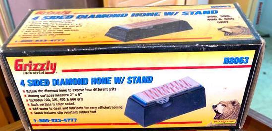 Grizzly H8063 Four Sided Diamond Hone