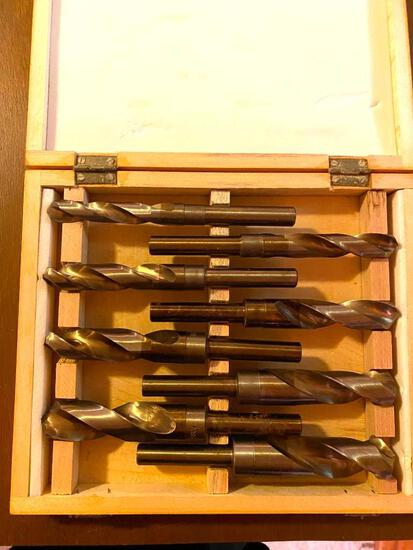 8 Piece Cobalt Steel and Deming Drill Set - New in Box