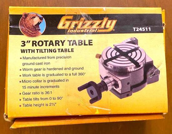 """3"""" Rotary Table - New in Box"""