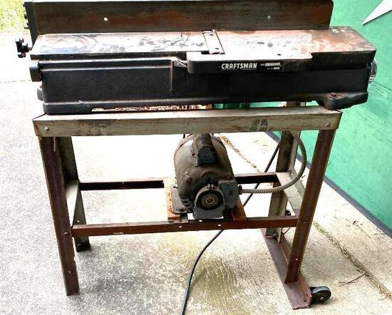 Sears, Roebuck & Co. Craftsman Jointer w/...Marathon...Electric Motor