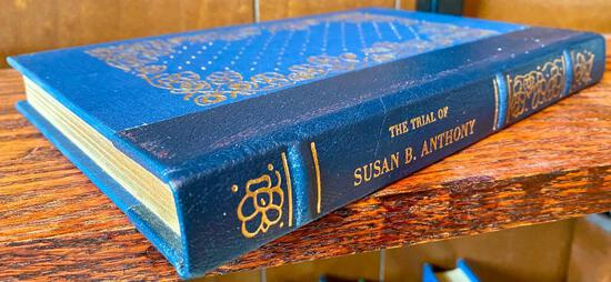 VERY RARE - The Trials of Susan B. Anthony - Gryphon Editions Notable Trials Collection - Excellent