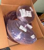 Clear Vinyl PVC Tubing Coils X 3