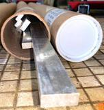 5 Tubes of Aluminum Bars and Aluminum Angle
