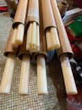 Huge Lot of Nylon Rods