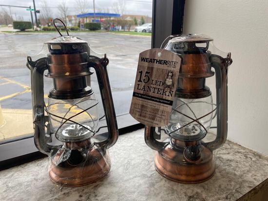 2 LED Camping Lanterns