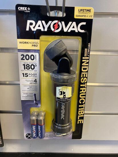 Rayovac Indestructible LED Workhorse Pro Flashlight