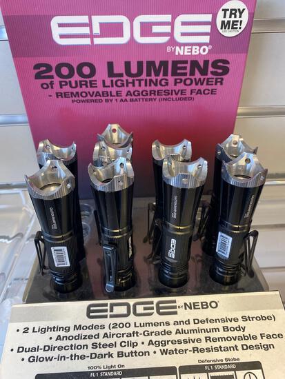 9 Nebo Edge 200 lumen LED Flashlights